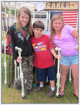 Kids love the fun design of My Third Leg Canes!